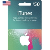 Thẻ iTunes 50$ Hệ US