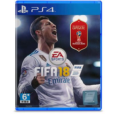 Đĩa Game PS4 Fifa 2018 Hệ Asia