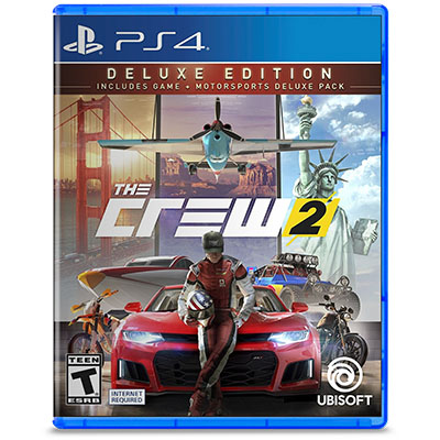 Đĩa Game PS4 The Crew 2 Deluxe Edition Hệ Asia