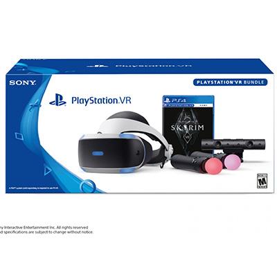 Kính Thực Tế Ảo PlayStation VR 2018 - Skyrim Bundle
