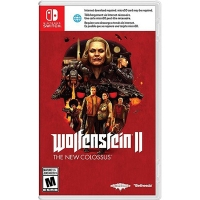Game Nintendo Switch Wolfenstein II The New Colossus