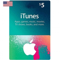 Thẻ iTunes 5$ Hệ US