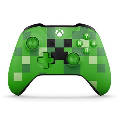 Tay Cầm Xbox One S Minecraft Creeper - Hàng Nhập Khẩu