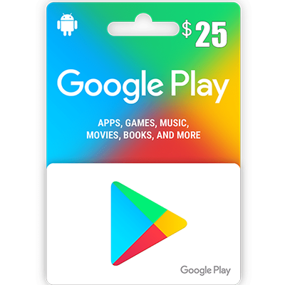 Thẻ Google Play 25$
