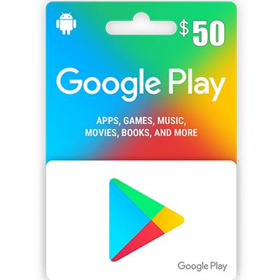 Thẻ Google Play 50$