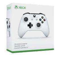 Tay Cầm Xbox One S Màu Trắng Chính Hãng [Kèm Pin]