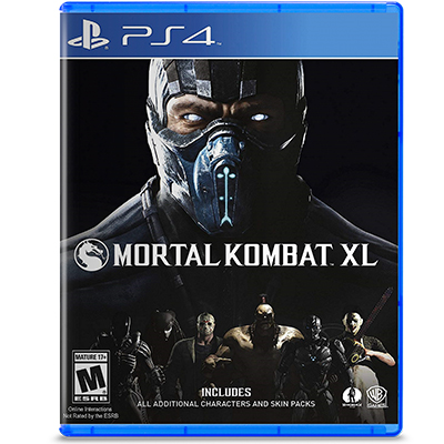 Đĩa Game PS4 Mortal Kombat XL Hệ US