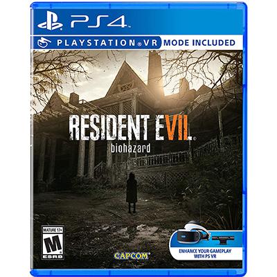 Đĩa Game PS4 Resident Evil 7 Hệ US