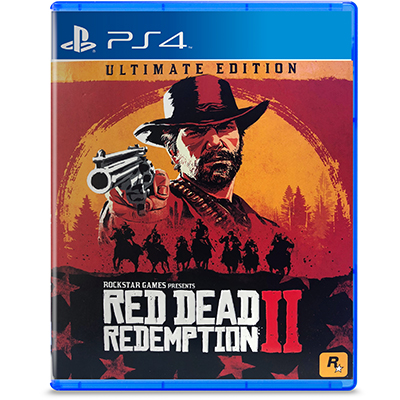 Đĩa Game PS4 Red Dead Redemption 2: Ultimate Edition Hệ Asia