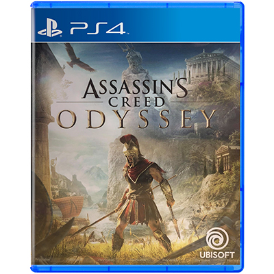 Đĩa Game PS4 Assassin Creed Odyssey Hệ Asia