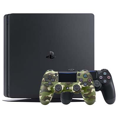 Máy PS4 Slim 500GB Kèm 2 Tay Chính Hãng