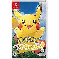 Game Nintendo Switch Pokemon: Let's Go, Pikachu!