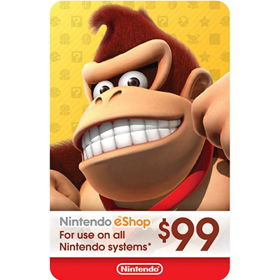 Thẻ Nintendo eShop 99$