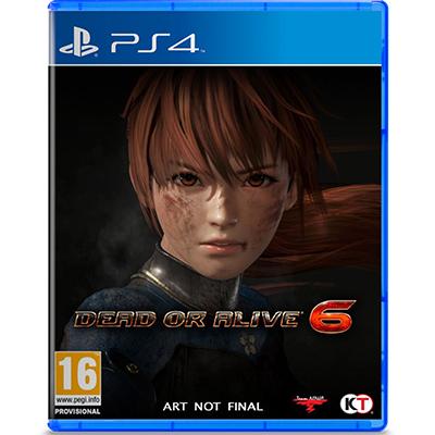 Đĩa Game Ps4 Dead or Alive 6 Hệ EU