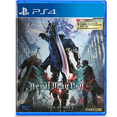 Đĩa Game PS4 Devil May Cry 5 Hệ Asia