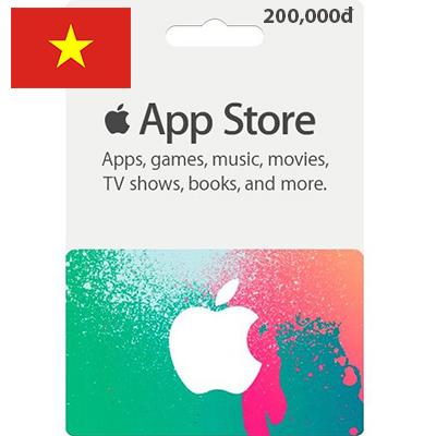 Thẻ iTunes 200,000đ (VN)