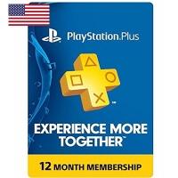 Thẻ Psn Plus 12 Tháng Hệ Us
