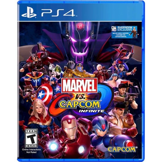 Đĩa Game PS4 Marvel Vs Capcom Infinite Hệ US