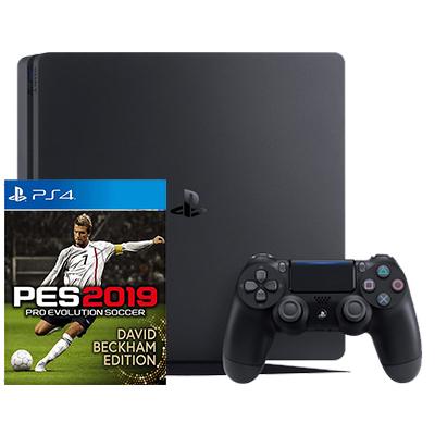 Máy PS4 Slim 1TB + Pes 2019 Chính Hãng