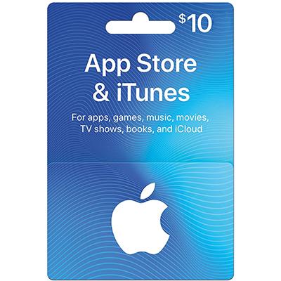 Thẻ iTunes 10$ (US)