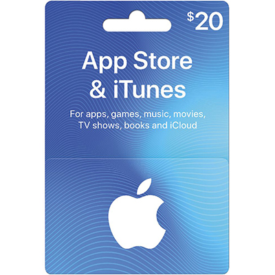 Thẻ iTunes 20$ (US)