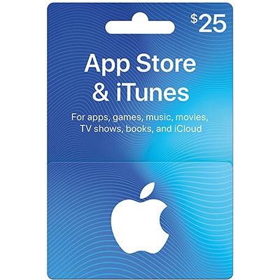 Thẻ iTunes 25$ (US)