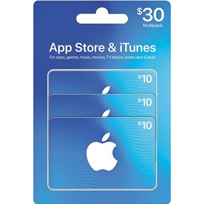 Thẻ iTunes 30$ (US)