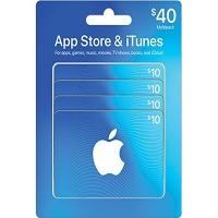 Thẻ iTunes 40$ (US)
