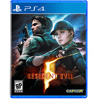 Đĩa Game PS4 Resident Evil 5