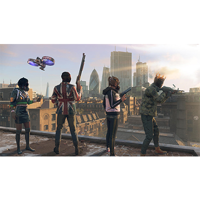 Đĩa Game PS4 Watch Dogs Legion