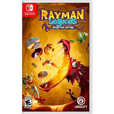 Game Nintendo Switch Rayman Legends Definitive Edition