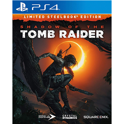 Đĩa Game PS4 Shadow of the Tomb Raider - Steelbook