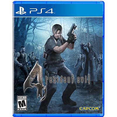 Đĩa Game PS4 Resident Evil 4