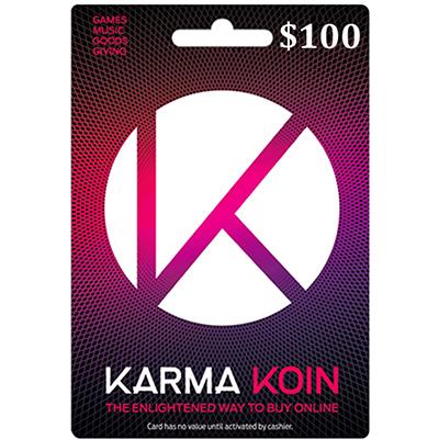 Thẻ Karma Koin 100 USD