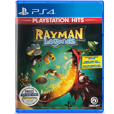Đĩa Game PS4 Rayman Legends Hệ Asia