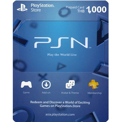 Thẻ PSN 1000 Baht Thái Lan