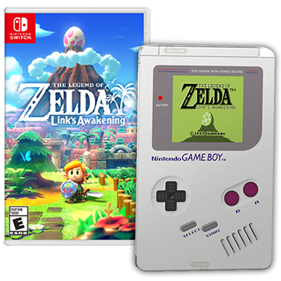 Game Legend of Zelda Link s Awakening - Steelbook