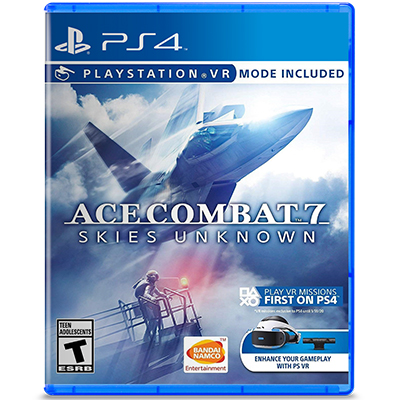 Đĩa Game PS4 Ace Combat 7 Skies Unknown Hệ US