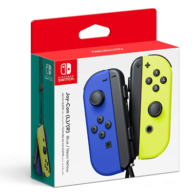 Tay cầm Nintendo Switch Joy-Con Blue/Neon Yellow