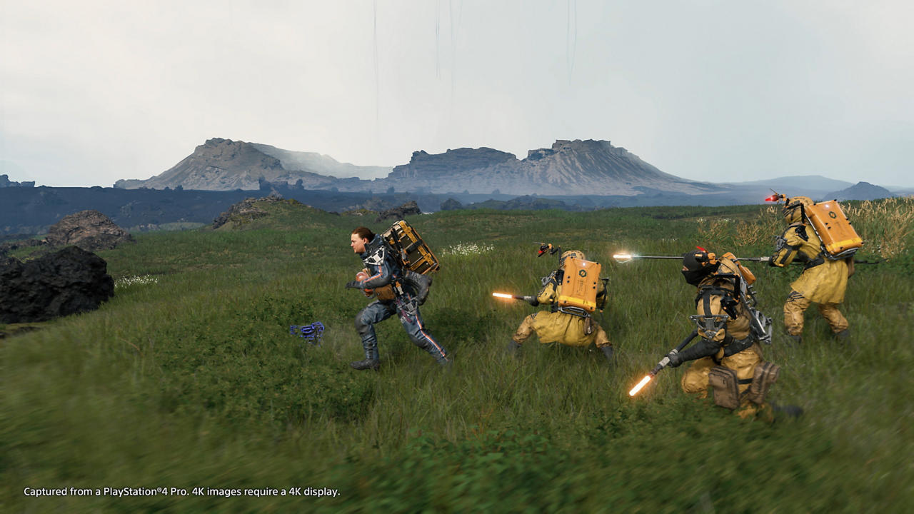 Đĩa Game PS4 Death Stranding Hệ Asia