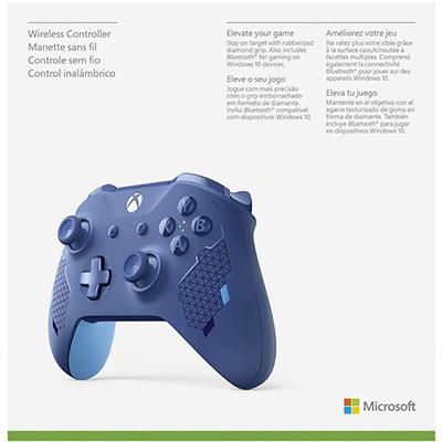 Tay Cầm Xbox One S – Sport Blue Special - Hàng Nhập Khẩu