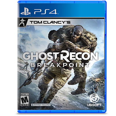 Đĩa Game PS4 Tom Clancy's Ghost Recon Breakpoint