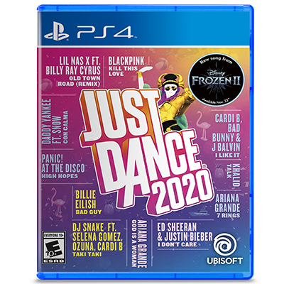 Đĩa Game PS4 Just Dance 2020 Hệ US
