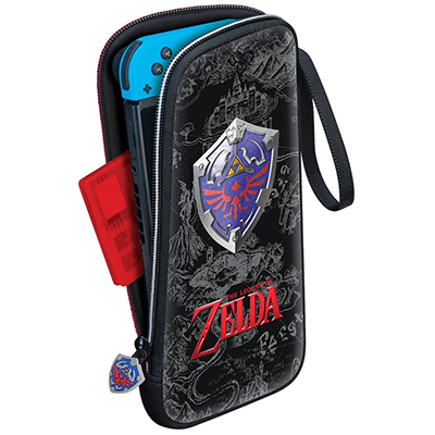 Game Traveler Slim Travel Case for Nintendo Switch - Zelda Hyrule Shield