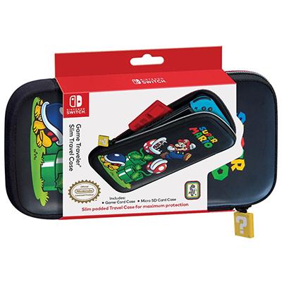 Game Traveler Slim Travel Case for Nintendo Switch - Super Mario