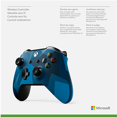 Tay Cầm Xbox One S Midnight Force II - Hàng Nhập Khẩu