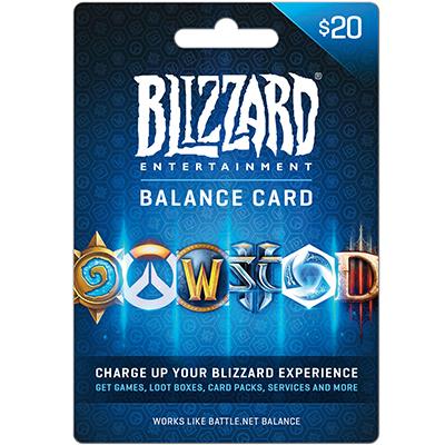 Thẻ Battle.net 20$
