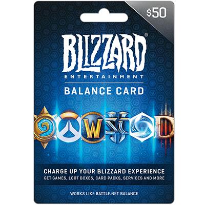 Thẻ Battle.net 50$