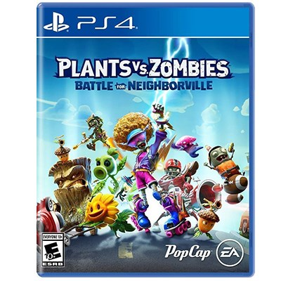 Đĩa Game PS4 Plants Vs. Zombies: Battle for Neighborville Hệ US