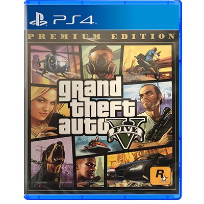 Đĩa Game PS4 GTA Grand Theft Auto V - Premium Online Edition Hệ Asia